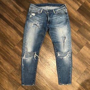 Ralph Lauren crop skinny jean